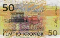 50 шведских крон